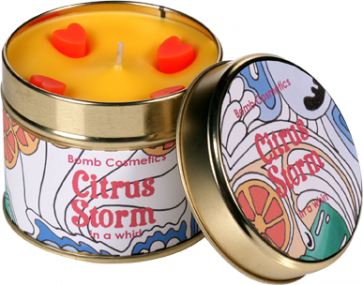 Citrus, Tinned, Candle