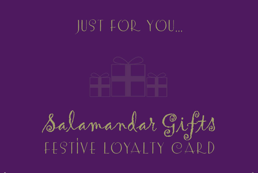 Festive Loyalty Card launches November 1st