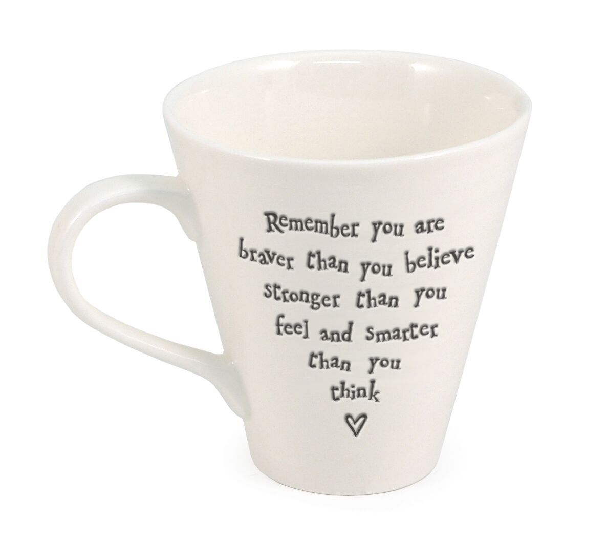 brave, friend, love, mug