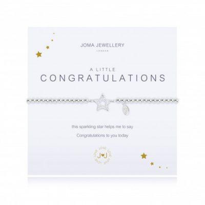 little, congratulations, bracelet, joma, silver, plated
