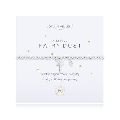 Little, Fairy, Dust, Charm, bracelet, joma, silver, plated