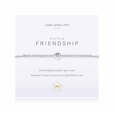 lttle, friendship, grey, silver, plated, joma, bracelet