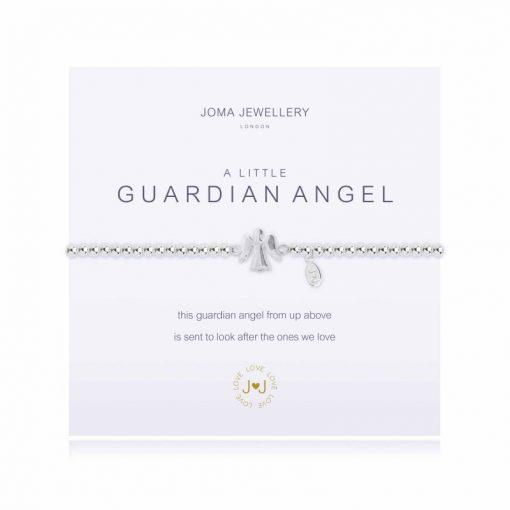 little, guardian, angel, silver, plated, joma, bracelet
