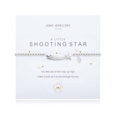 little, SHOOTING, STAR, Bracelet, joma, silver