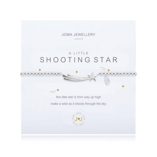 little, SHOOTING, STAR, Bracelet, joma, silver