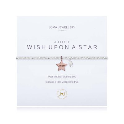 Little, wish, star, bracelet, silver, joma
