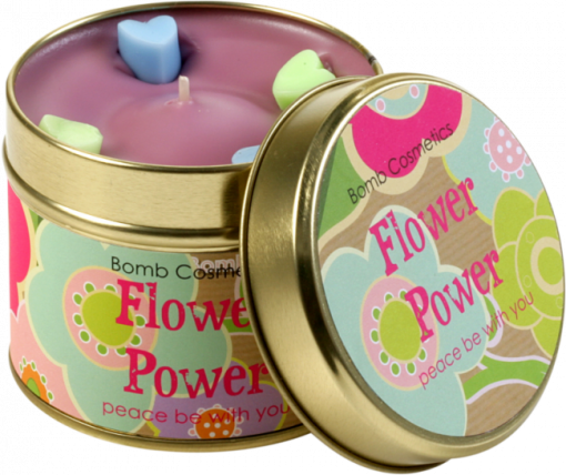 flower, power, tinned, candle, bomb, cosmetics
