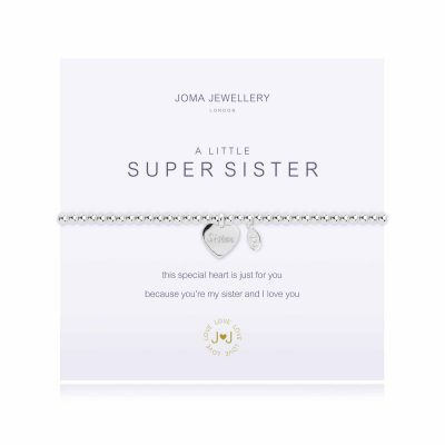 silver, plated, little, super, sister, bracelet, joma