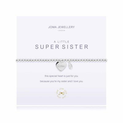 silver, plated, little, super, sister, bracelet, joma