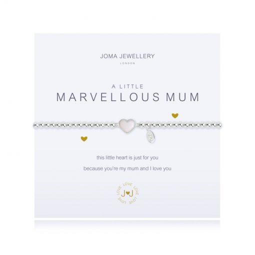 littl, joma, silver, plated, marvellous, mum, bracelet