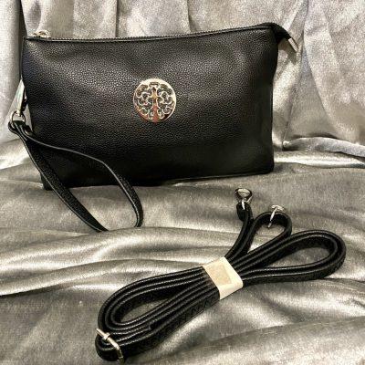 black, tree of life, bag