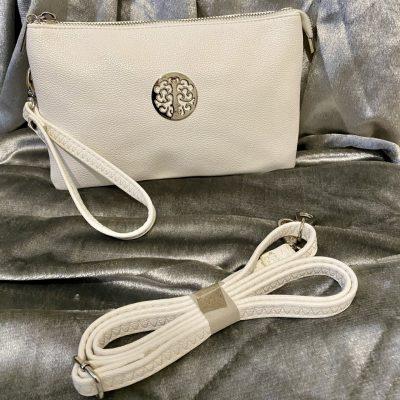 white, tree of life, bag