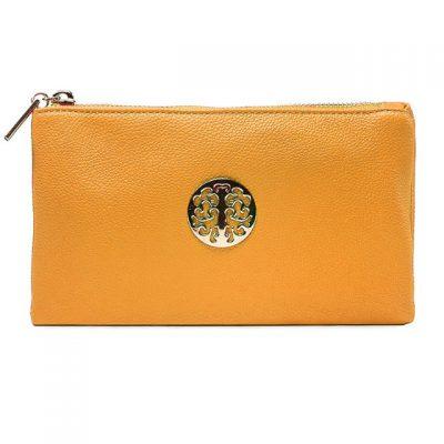 mustard, small, tree of life, bag, handbag