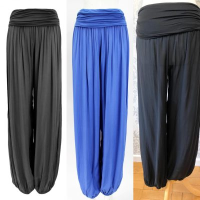 Plain harem trousers - £14.99