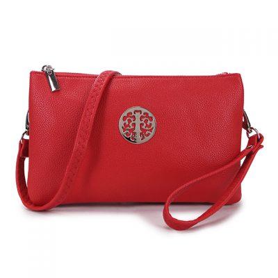 red, tree of life, handbag, bag