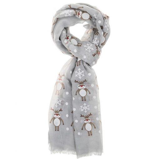 Christmas, gift, scarf, rudolph, reindeer