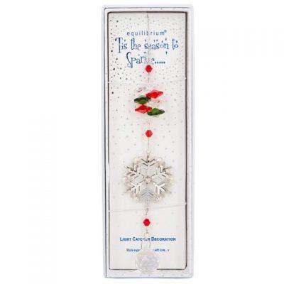 snowflake, suncatcher, decoration, xmas