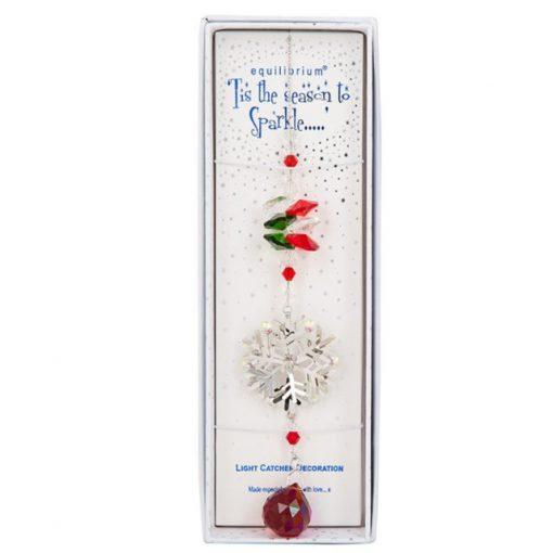 snowflake, suncatcher, christmas, decoration