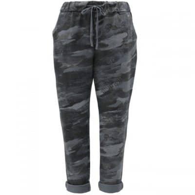 Grey , plain, stretchy, magic trousers, joggers