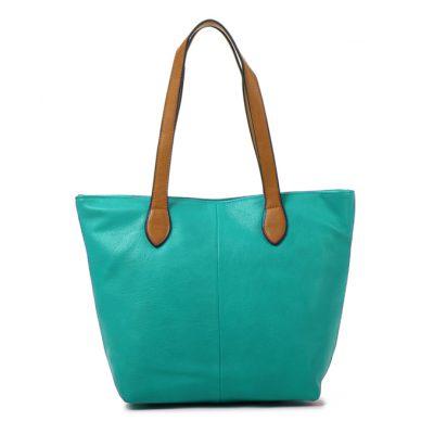 Teal, shoulder bag