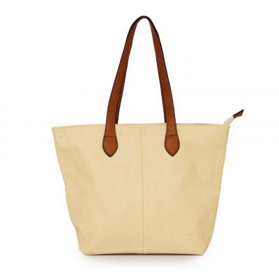 Beige, shoulder bag