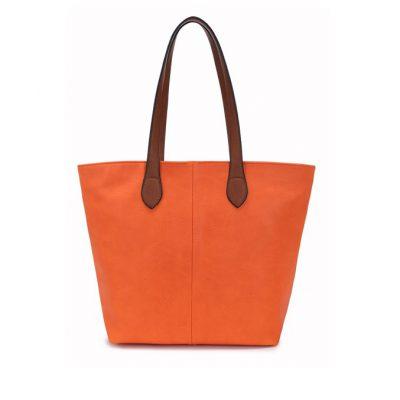 orange, shoulder bag