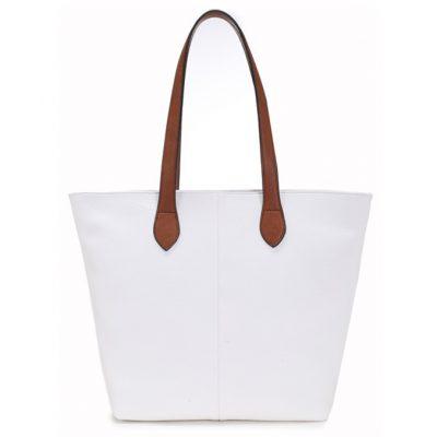 white, shoulder bag