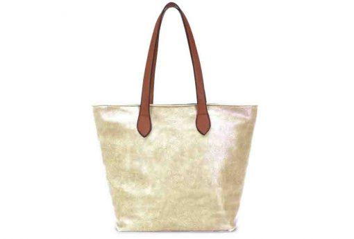 gold, shoulder bag