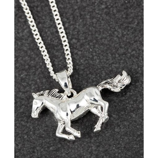 horse, necklace