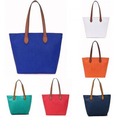 Contrast strap zip up bags £14.99