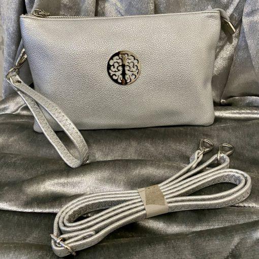 silver, tree of life, bag