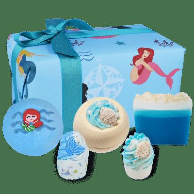 bath, gift, mermaid