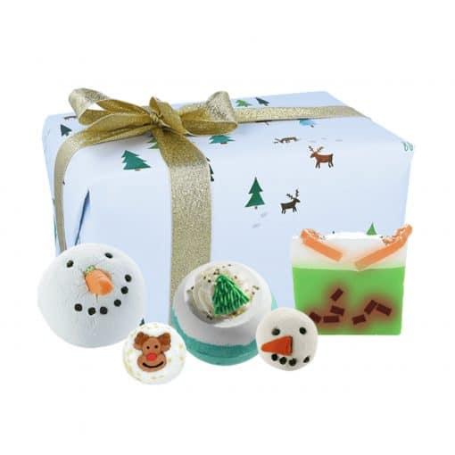 Snow flurry bath gift box