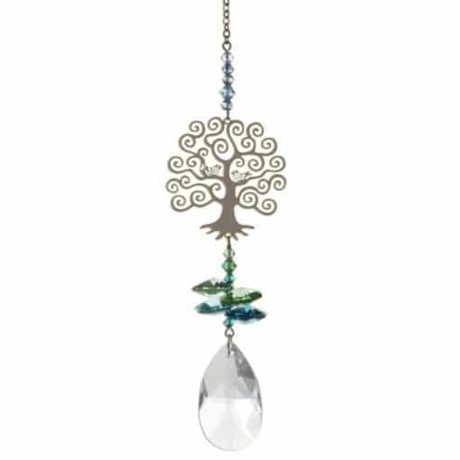 Crystal, tree of life, hanging decoration
