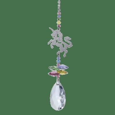 crystal, hanging decoration, unicorn