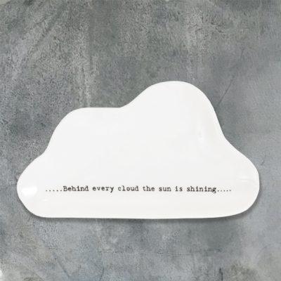 east of india, trinket dish, cloud