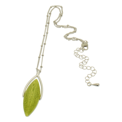 lime, green, short necklace, necklace, miss milly, fn208