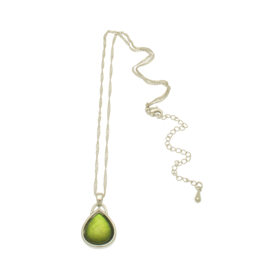 Green, short necklace, necklace, miss milly, fn213
