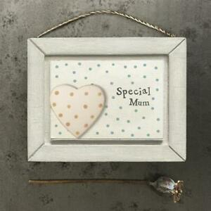 east of india, little wooden picture, mum, mummy, special mum