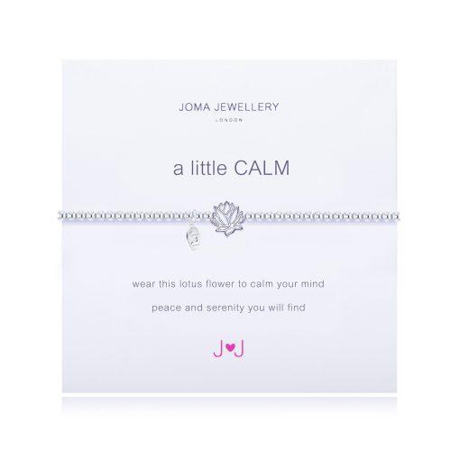 calm, lotus flower, bracelet, joma