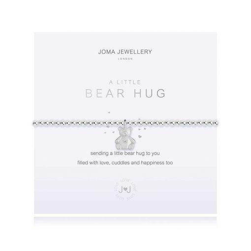 Bear hug, hug, cuddle, bracelet, joma