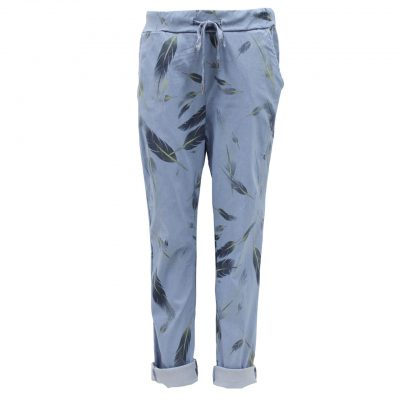 blue magic trousers
