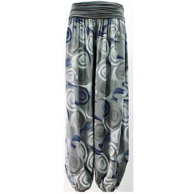 Grey harem trousers