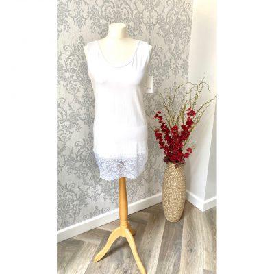 white, lace vest, vest