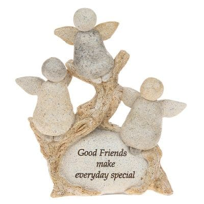 good friends, pebble art, friends gift