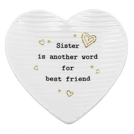 Sister, trinket tray, heart