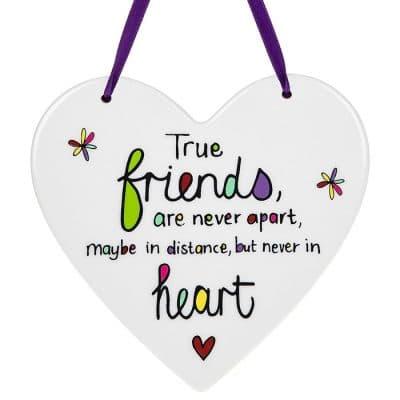 true friends, hanging heart, never apart