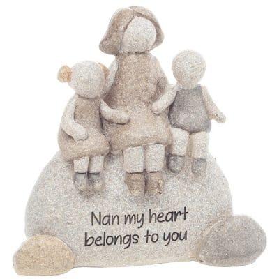 nan gift, pebble art