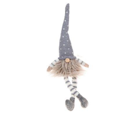 Nordic Furry Gonk Dangle Leg Medium - Grey (311675)