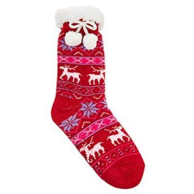 christmas socks, reindeer socks